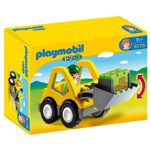 Playmobil Excavator packaging