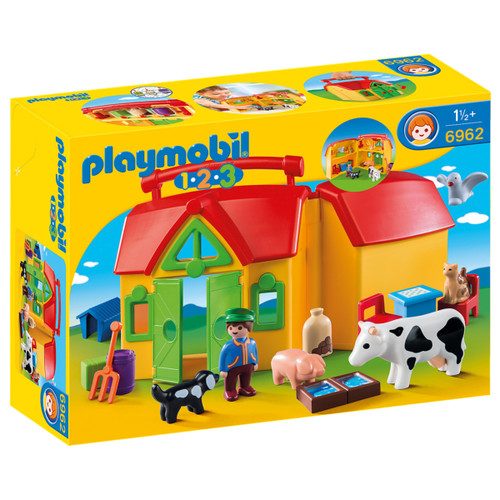 Playmobil My Take Along Farm box