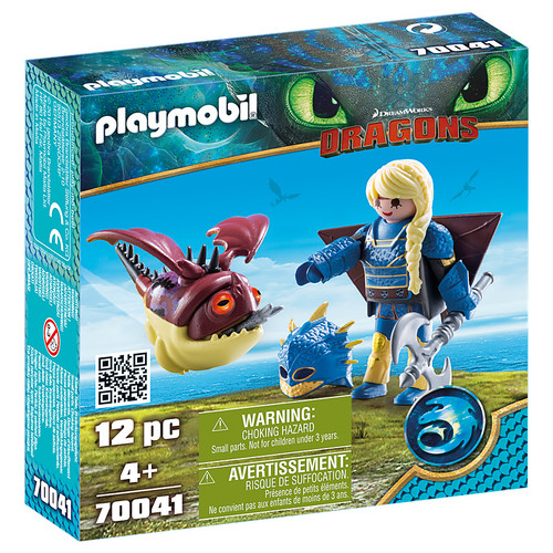 Playmobil Astrid with Hobgobbler packaging