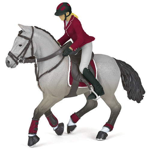 Papo Competition Horse with Riding Girl 51563