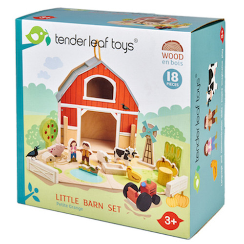 Tender Leaf Toys Little Barnyard Set box