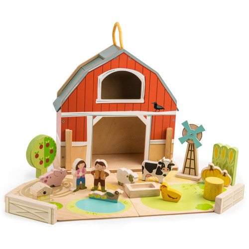 Tender Leaf Toys Little Barnyard Set