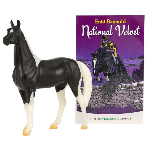 Breyer National Velvet Horse & Book