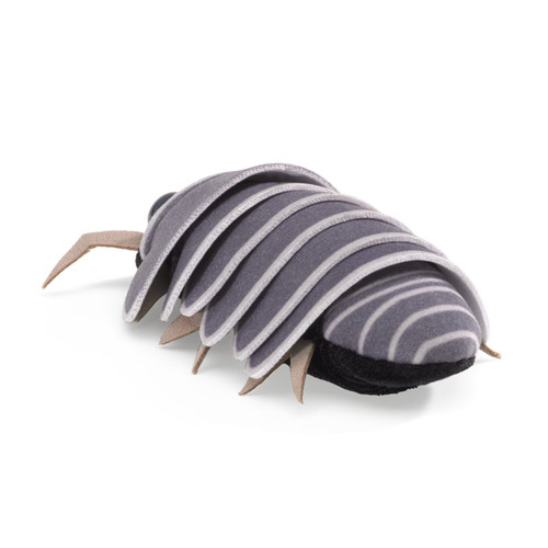 Folkmanis Mini Roly Poly Finger Puppet back