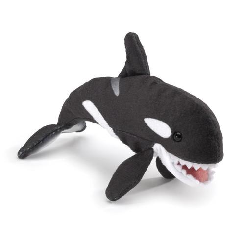 Folkmanis Mini Orca Finger Puppet