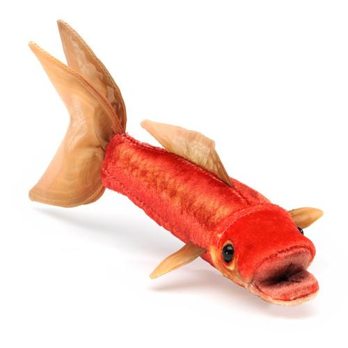 Folkmanis Mini Goldfish Finger Puppet