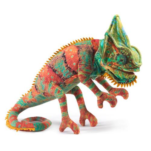 Folkmanis Small Chameleon Hand Puppet