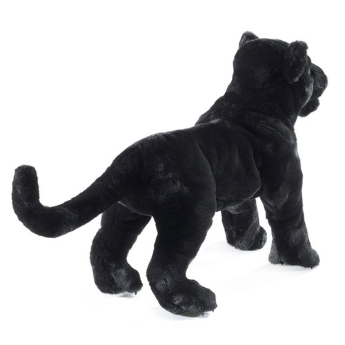 Folkmanis Black Panther Puppet back