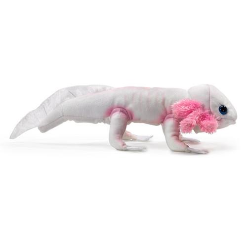 Folkmanis Axolotl Finger Puppet side