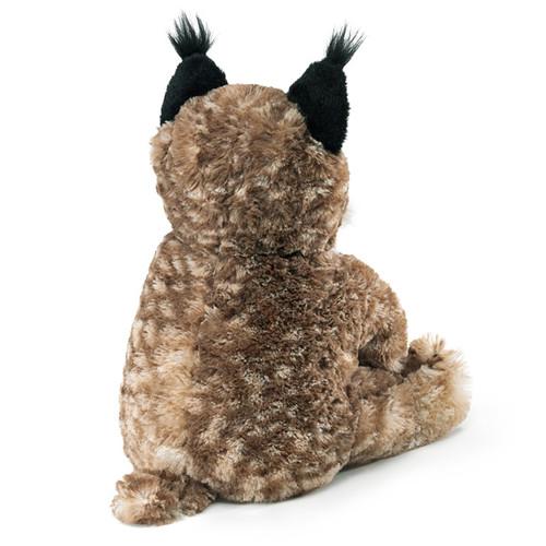 Folkmanis Bobcat Kitten Puppet back