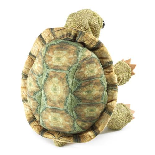 Folkmanis Standing Tortoise Puppet back