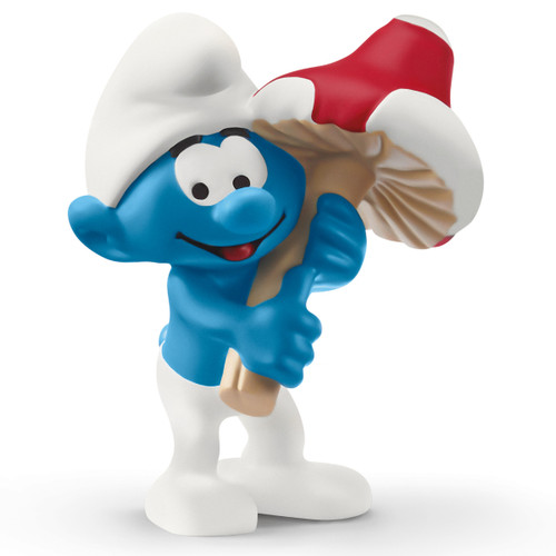 Schleich Smurf With Good Luck Charm 20819