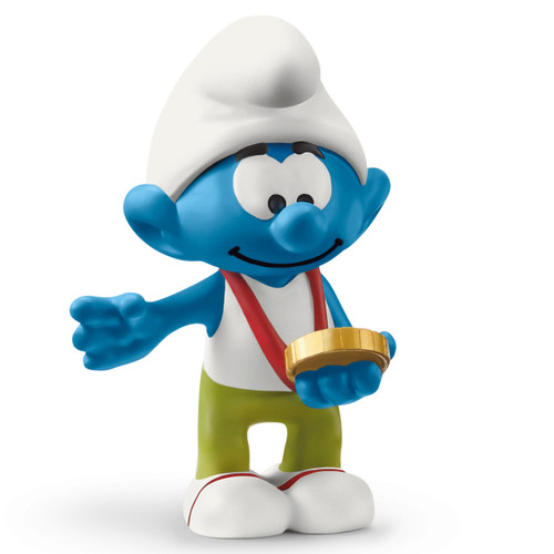 Schleich Smurf With Medal 20822
