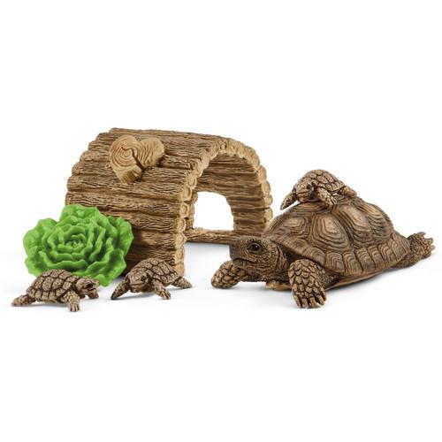 Schleich Tortoise Home 42506