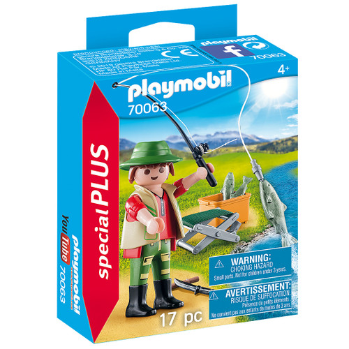 Playmobil Fisherman packaging