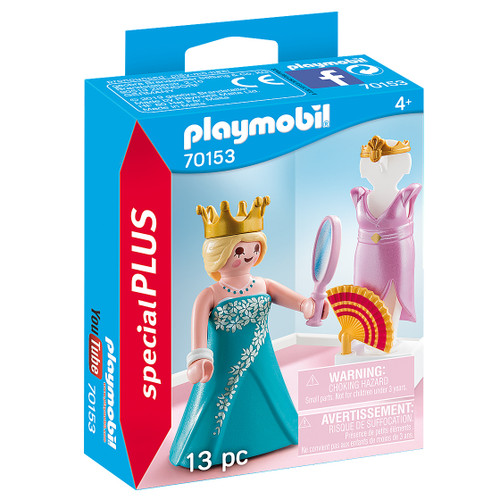 Playmobil Princess with Mannequin packaging