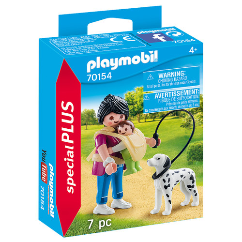Playmobil Mother with Baby and Dog packaging