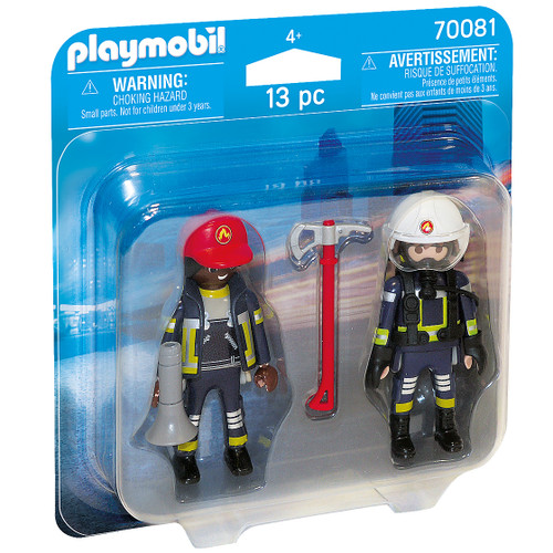 Playmobil Rescue Firefighters Duo Pack packaging