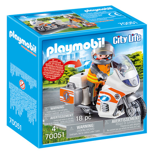 Playmobil Emergency Motorbike box