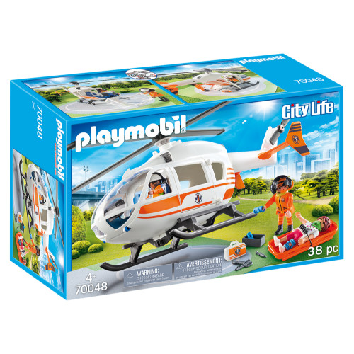 Playmobil Rescue Helicopter box