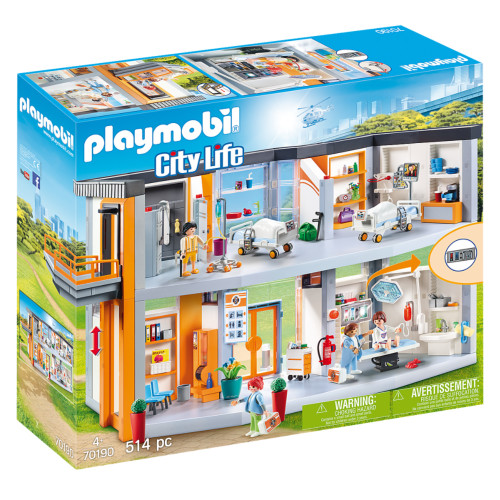 Playmobil Large Hospital box
