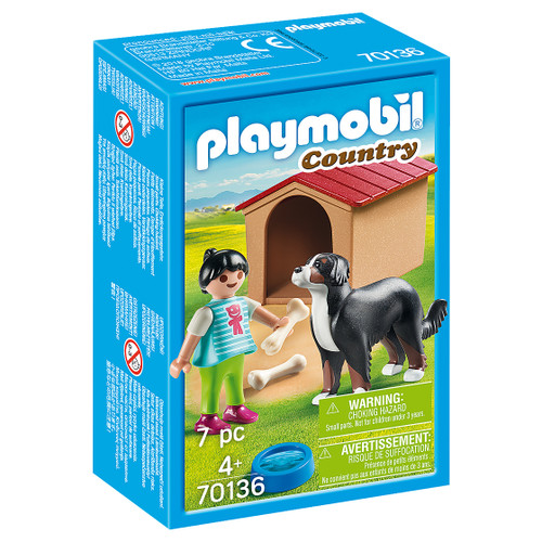 Playmobil Dog with Doghouse packaging