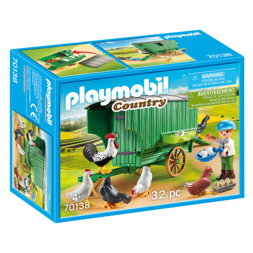 Playmobil Chicken Coop packaging