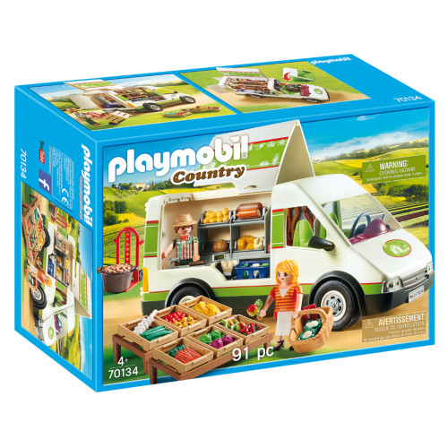 Playmobil Mobile Farm Market box
