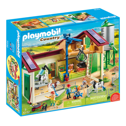 Playmobil Farm with Animals box