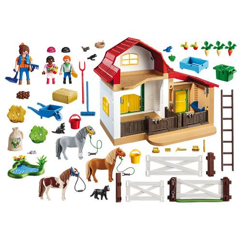 Playmobil Pony Farm inclusions