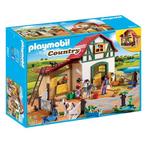 Playmobil Pony Farm packaging