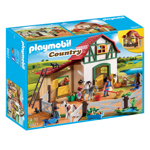 Playmobil Pony Farm packaging