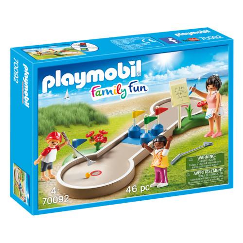 Playmobil Mini Golf box