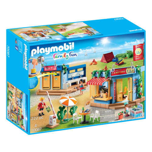 Playmobil Large Campground box
