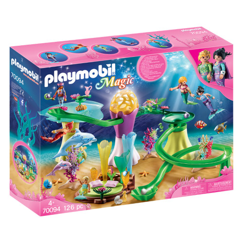 Playmobil Mermaid Cove with Illuminated Dome box