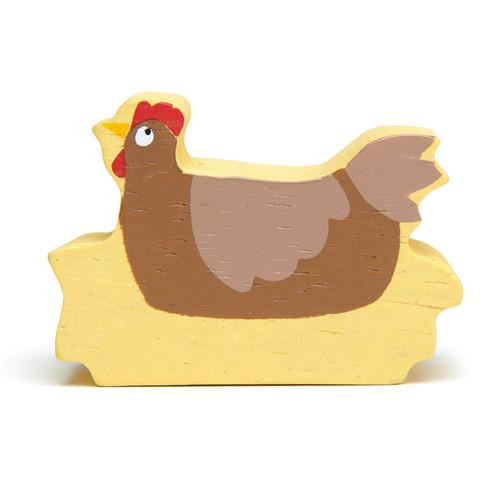 Tender Leaf Toys Wooden Chicken