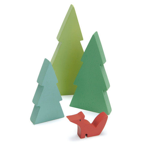 Tender Leaf Toys Fir Tree Set
