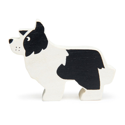 Tender Leaf Toys Wooden English Shepherd Dog