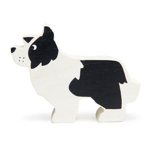 Tender Leaf Toys Wooden English Shepherd Dog