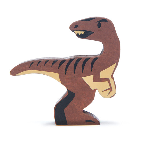 Tender Leaf Toys Wooden Dinosaur Velociraptor