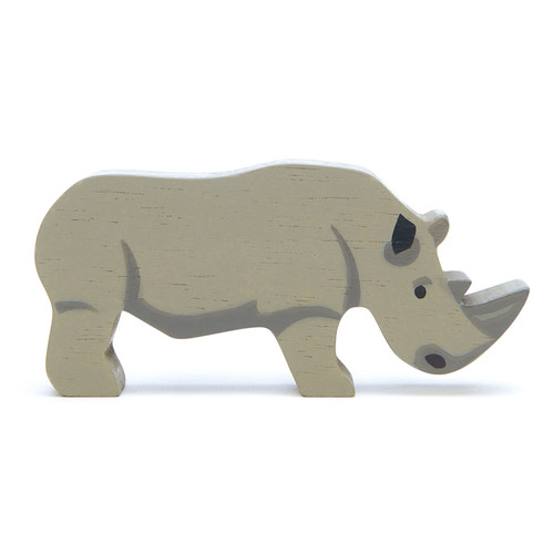 Tender Leaf Toys Wooden Rhino