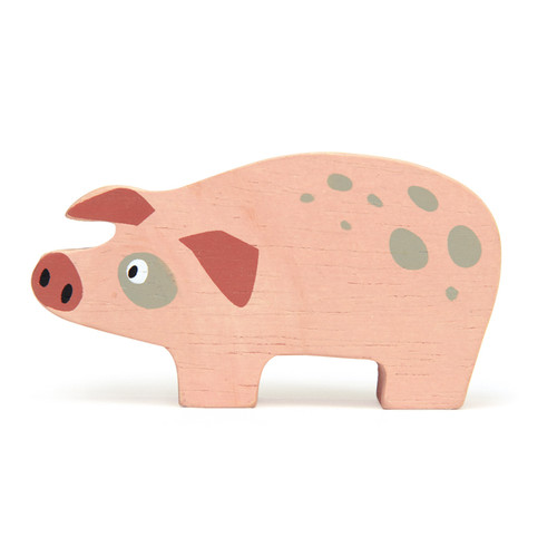Tender Leaf Toys Wooden Pig
