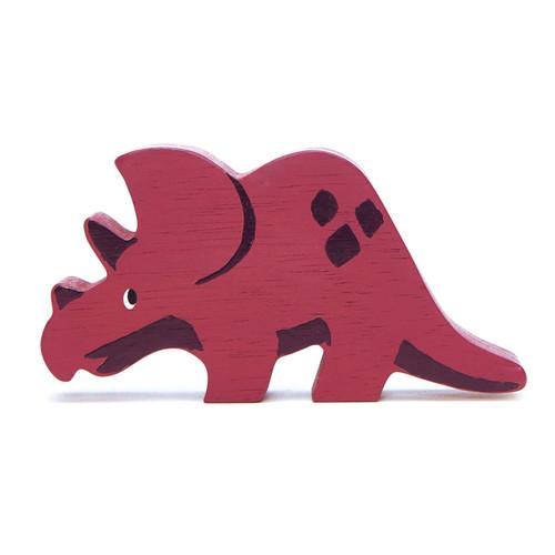 Tender Leaf Toys Wooden Dinosaur Triceratops