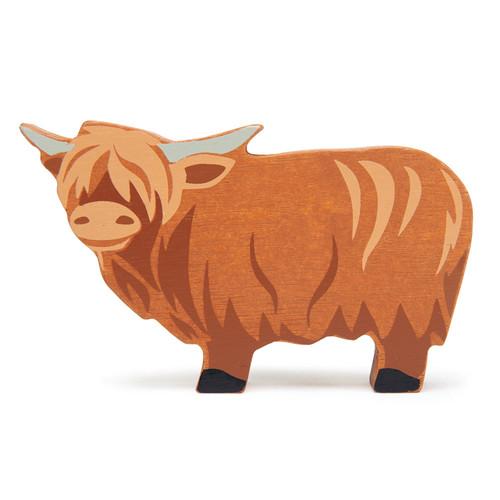 Tender Leaf Toys Wooden Highland Cow