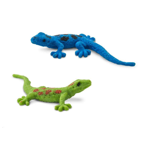 Safari Ltd Mini Day Geckos 2 colours