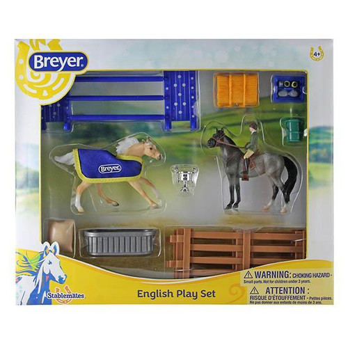 Breyer Stablemates English Play Set box
