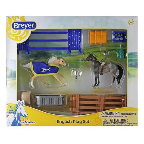 Breyer Stablemates English Play Set box