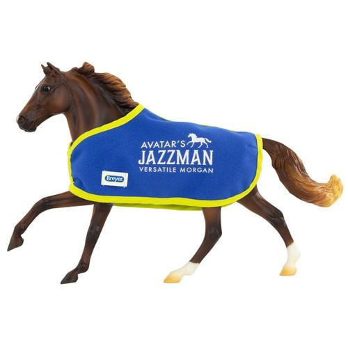 Breyer Avatar's Jazzman with blanket