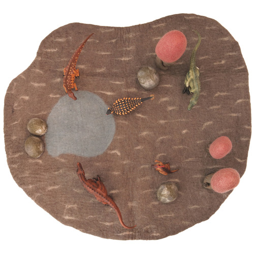 Papoose Dino Mat Large with animals and accessories (sold separately)