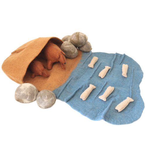 Papoose Bear Cave Set 15pc